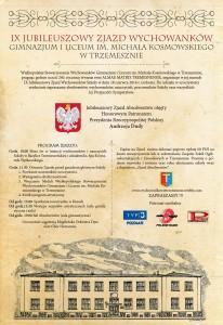 Plakat_IX_Zjazd_Wychowankow_2016